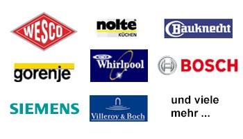 Hersteller von Einbauküchen und Küchenzubehör