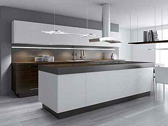 Bild einer Einbauküche